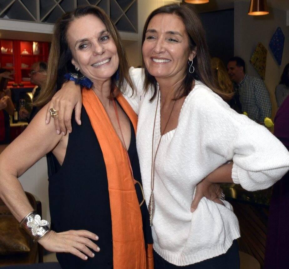 Patricia Secco e Lucia Guanabara