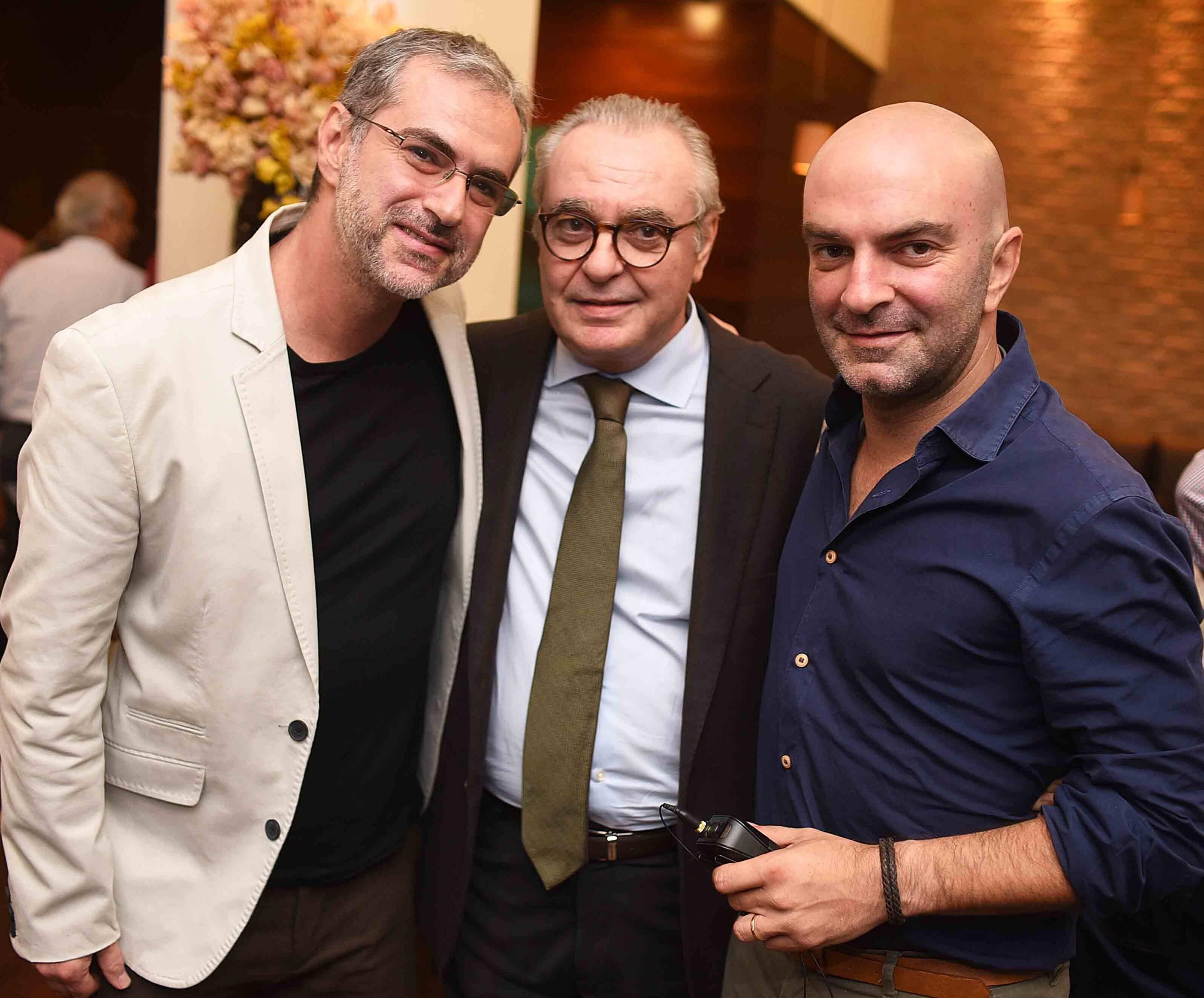 Alexandre Lalas, Danio Braga e Ricardo Garrido /Foto: Ari Kaye