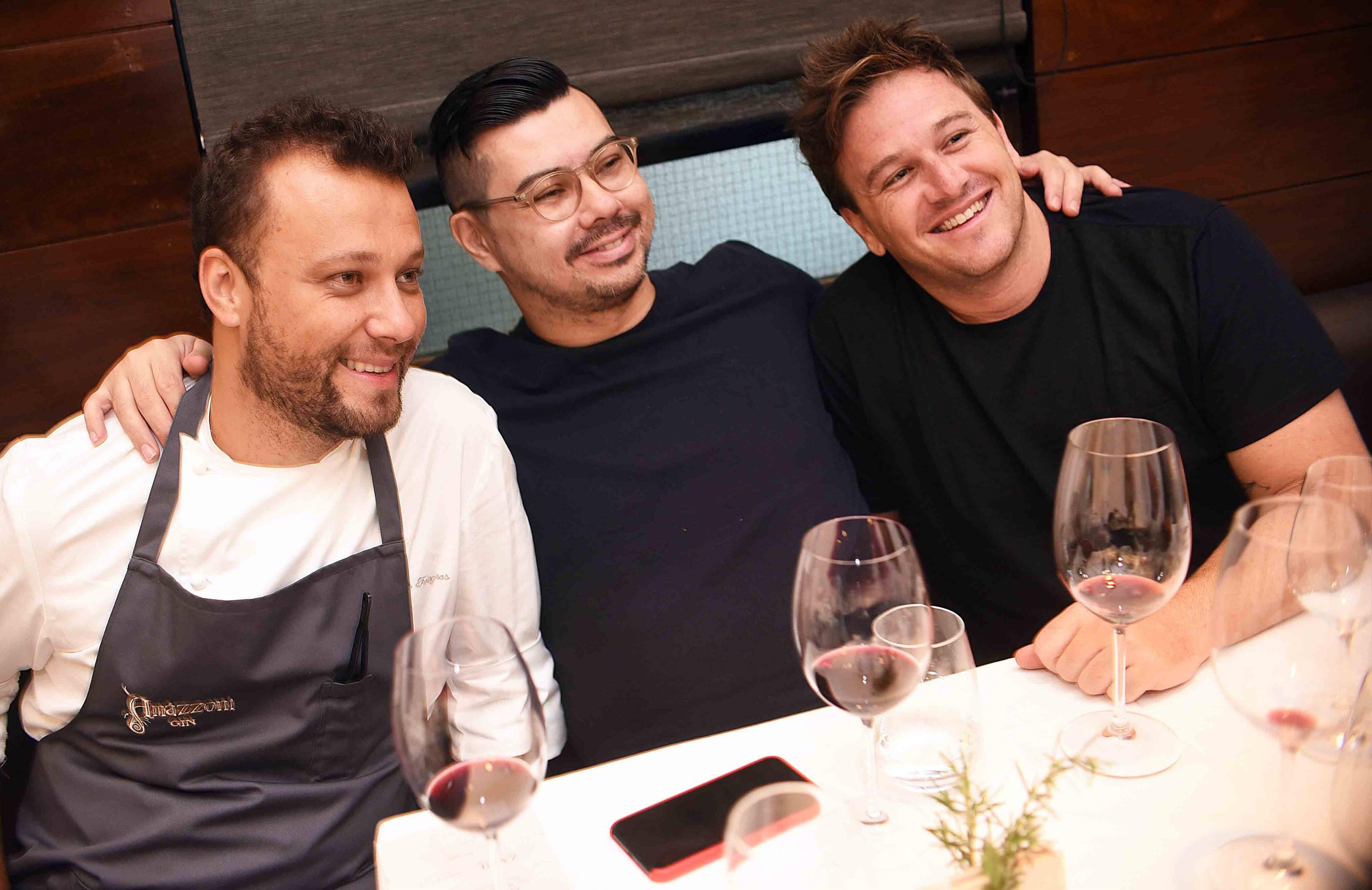 Thomas Troisgros, Alberto Landgraf e Pedro Siqueira /Foto: Ari Kaye