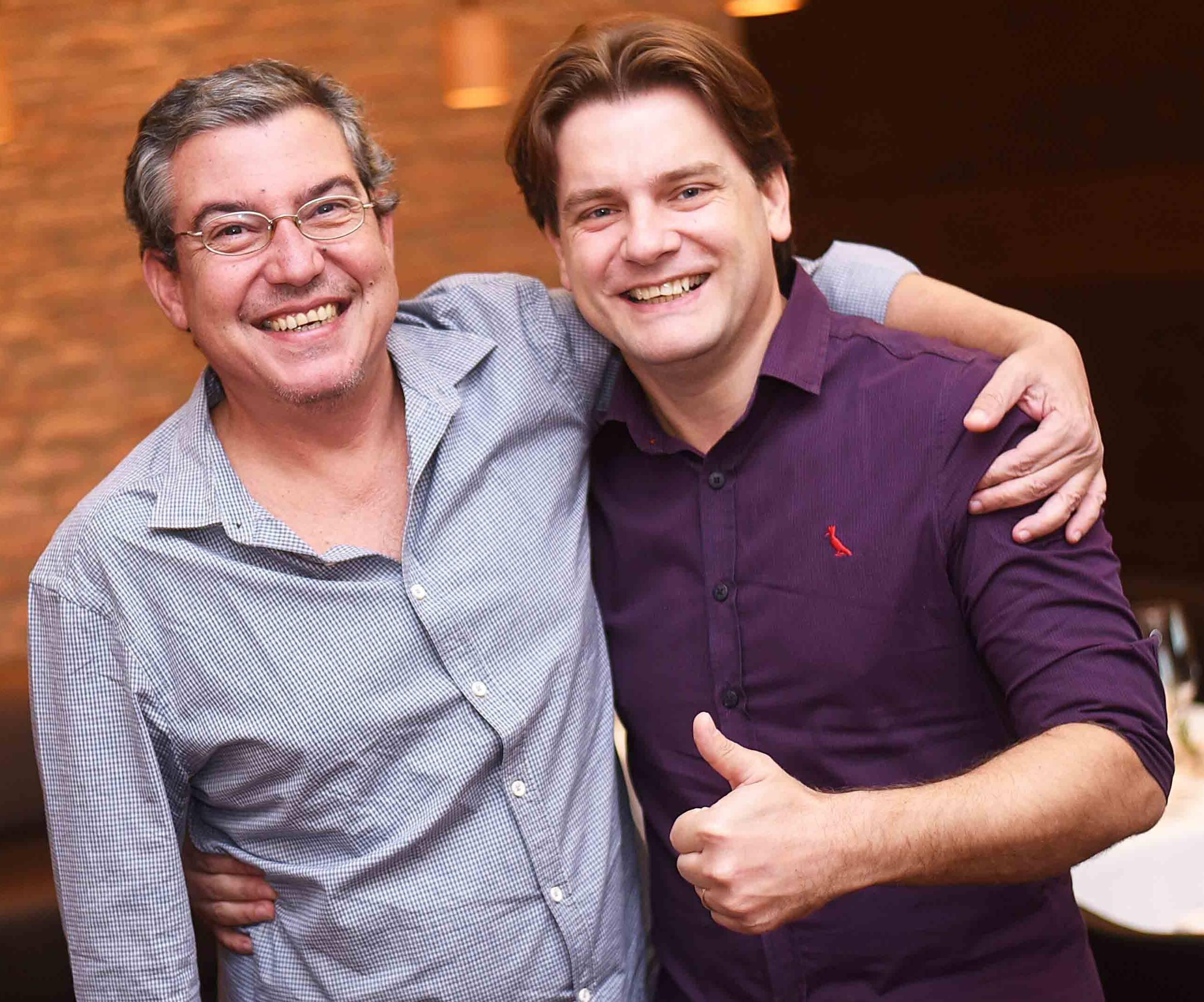 Bruno Agostini e Eder Heck /Foto: Ari Kaye