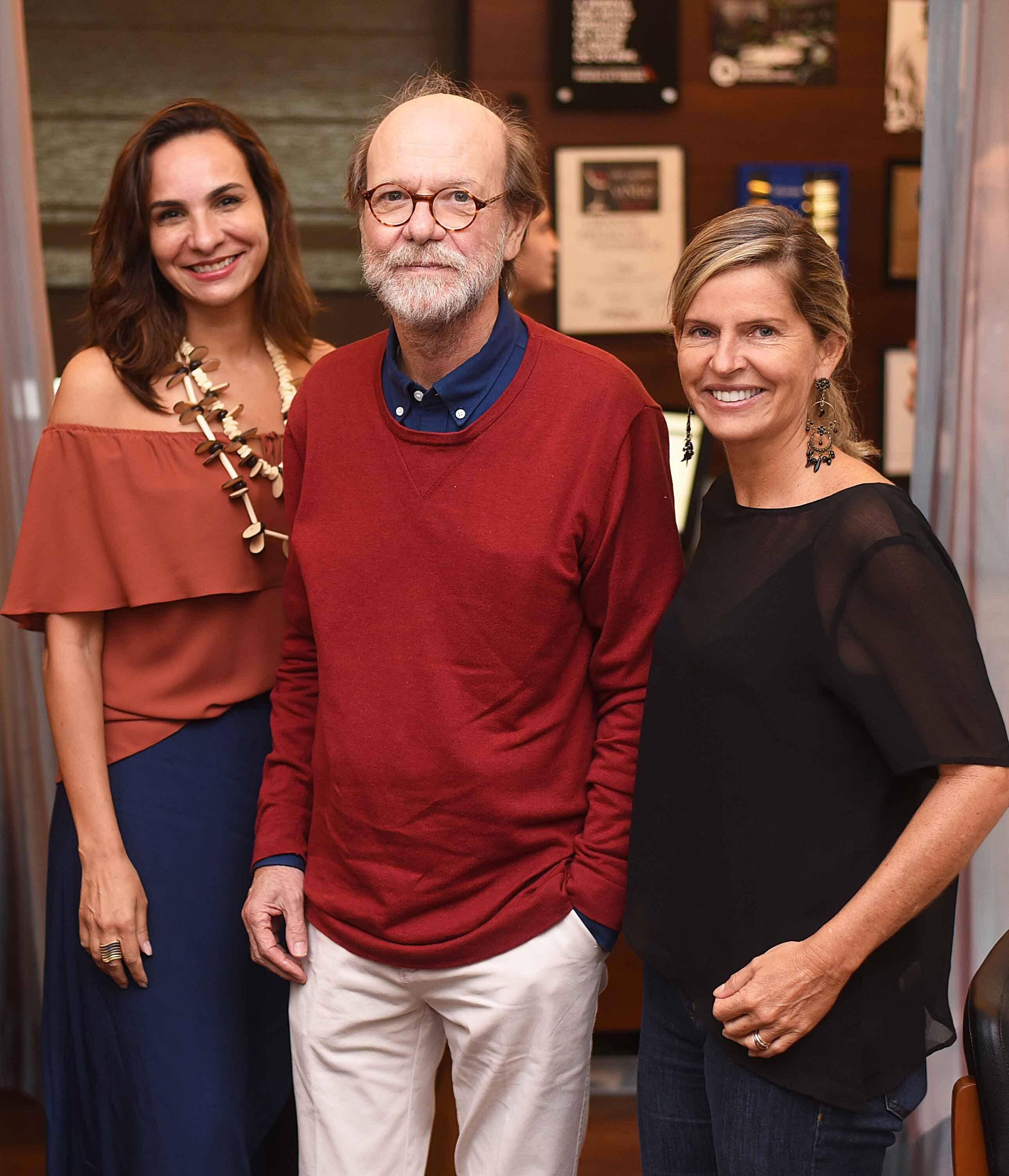 Cris Beltrão, Chico Mascarenhas e Sonia Campos /Foto: Ari Kaye