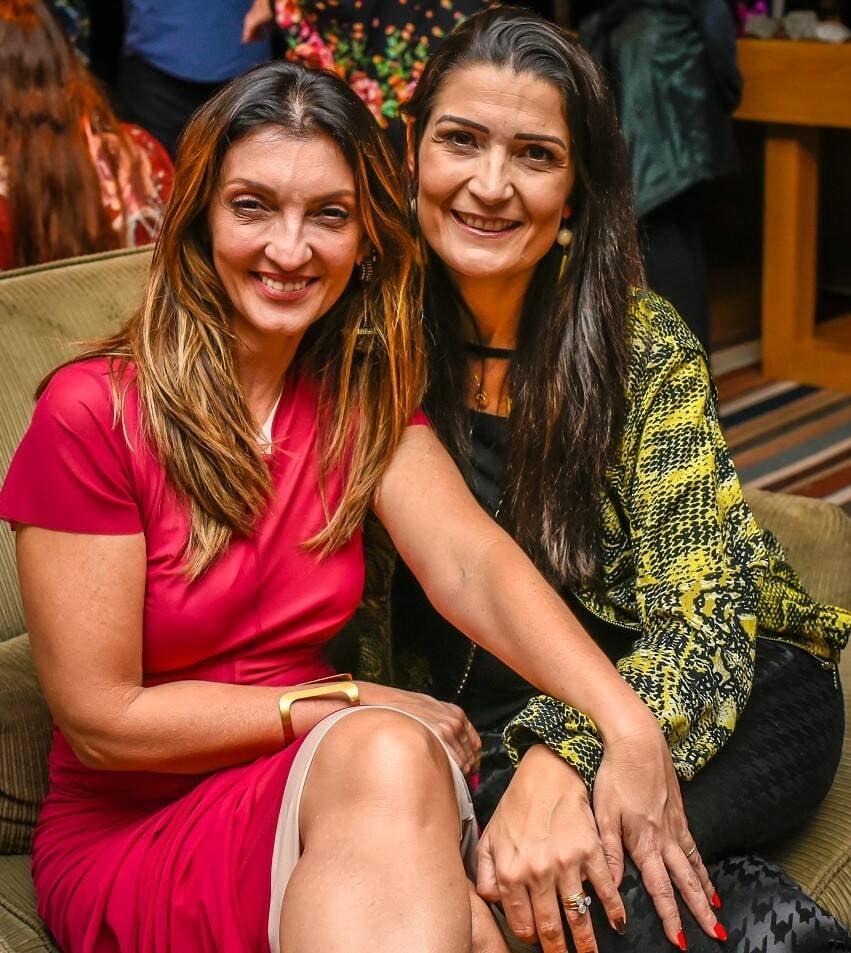 Leticia Azambuja Carvalho e Monique Abrantes  /Foto: Mariama Prieto