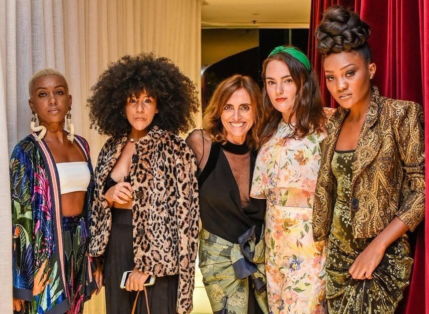 Bianca Gabriel, Pam, Patricia Carta, Maria Antonia Bocayuva e Jacy July  /Foto: Mariama Prieto