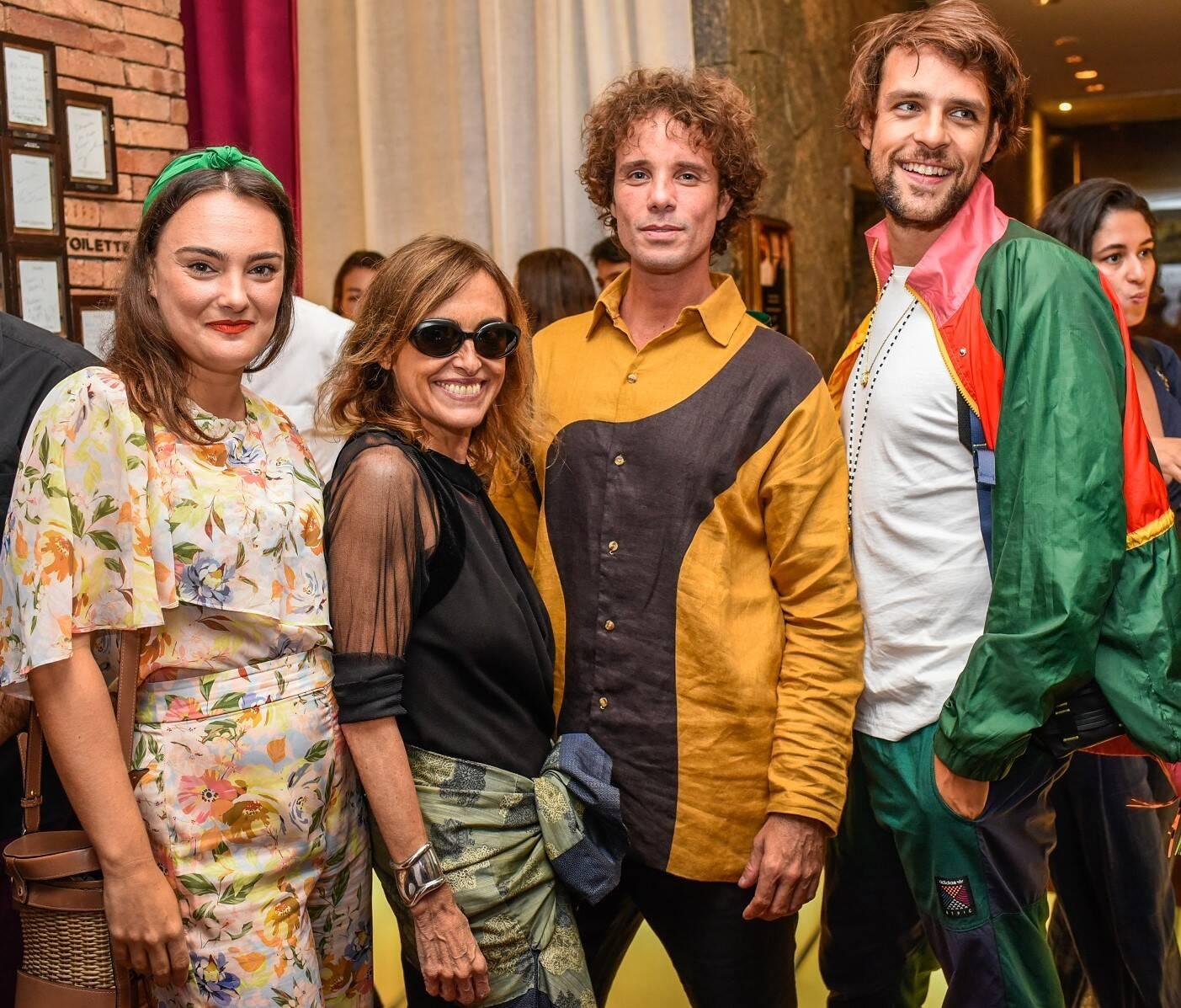 Maria Antonia Bocayuva, Patricia Carta, Leo Muqui e Daniel Pedro Vale  /Foto: Mariama Prieto