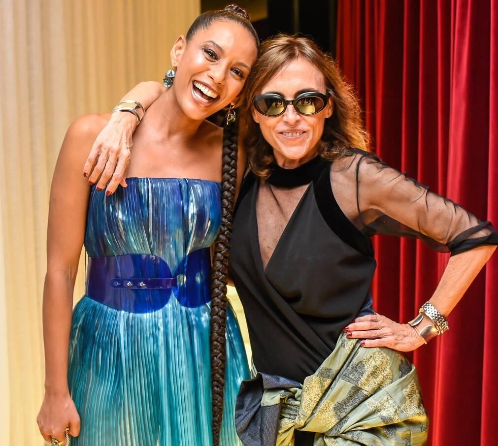 Patricia Carta e Tais Araújo  /Foto: Mariama Prieto
