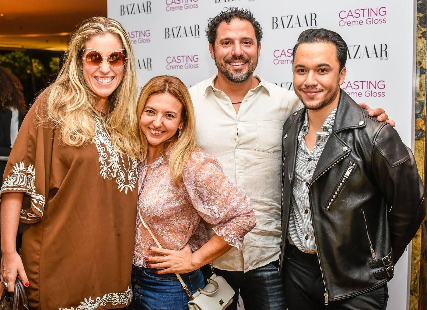 Bruna Barros, Fernanda Johannpeter, Paulo Valladares e Vinicius Belo  /Foto: Mariama Prieto