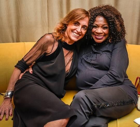 Zezé Motta e Patricia Carta  /Foto: Mariama Prieto