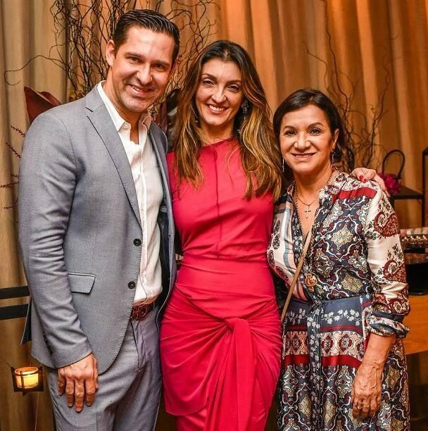 Claudio Tironi, Leticia Carvalho e Sueli Bombiere  /Foto: Mariama Prieto