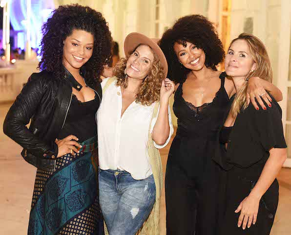 Juliana Alves, Maíra Charken, Sheron Menezzes e Juliana Sanam