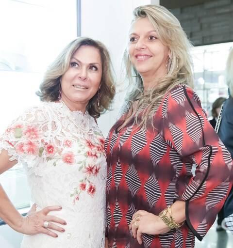 Dirce Motta e Leila Esposito