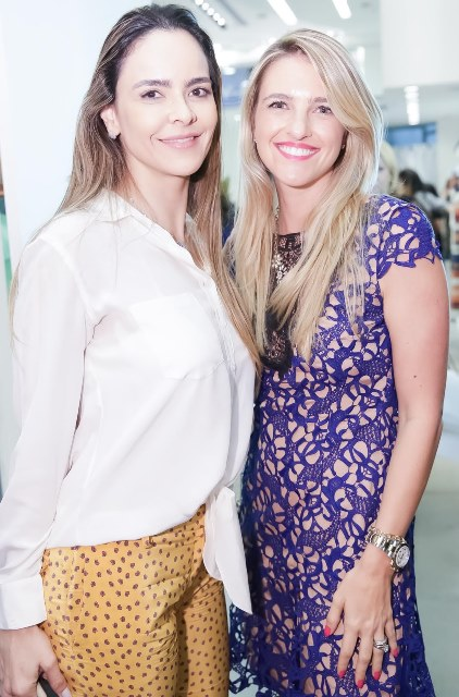 Gabriella Vasconcellos e Luiza Lustaman