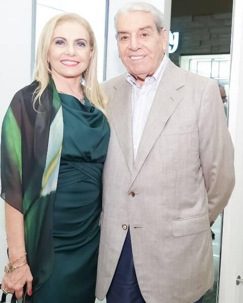 Heliana Lustman e Carlos Fernando Carvalho