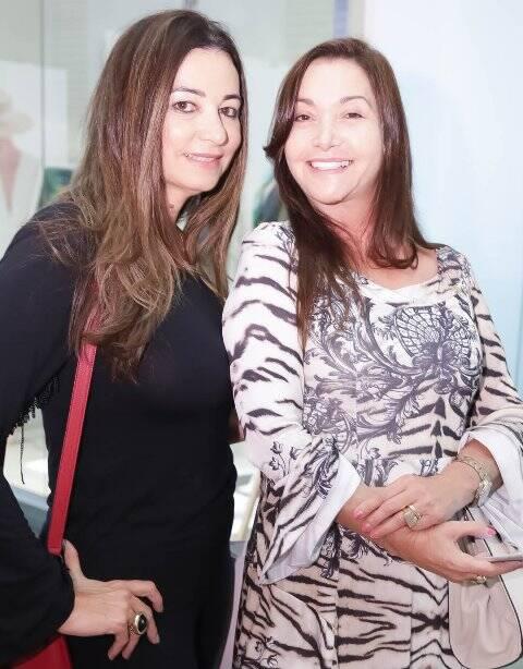 Hosana Pereira e Monique Calainho