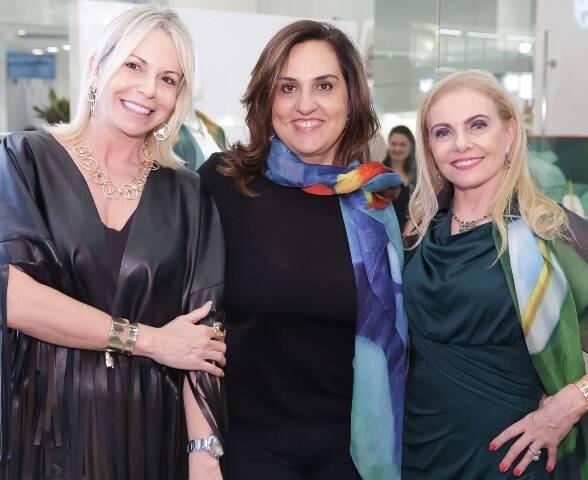 Nina Kauffmann, Yone Beraldo e Heliana Lustman