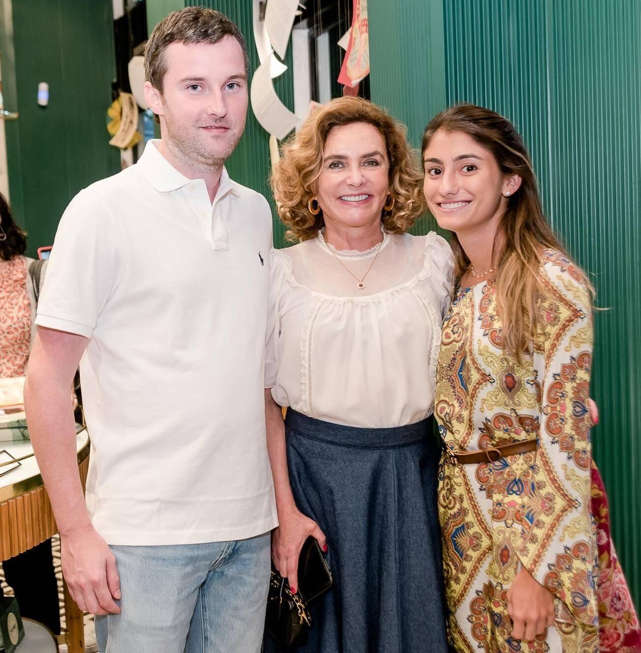 Lui Freeman, Clicia Lutti  e Maria Eduarda Moraes  /Foto: Renato Wrobel