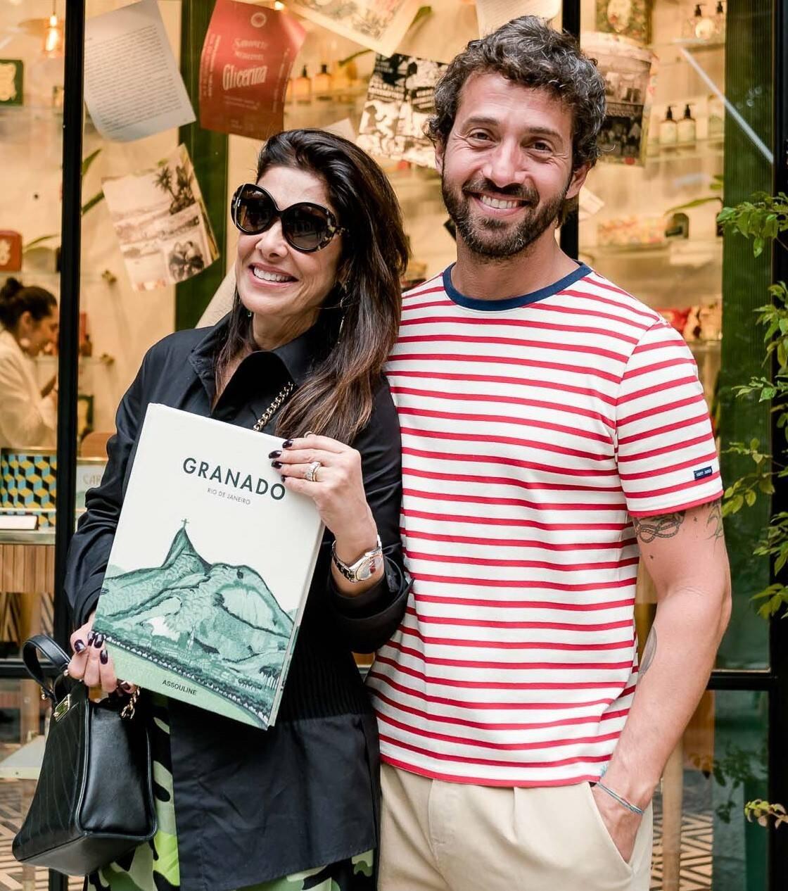 Patricia Brandão e Hermés Galvão  /Foto: Renato Wrobel