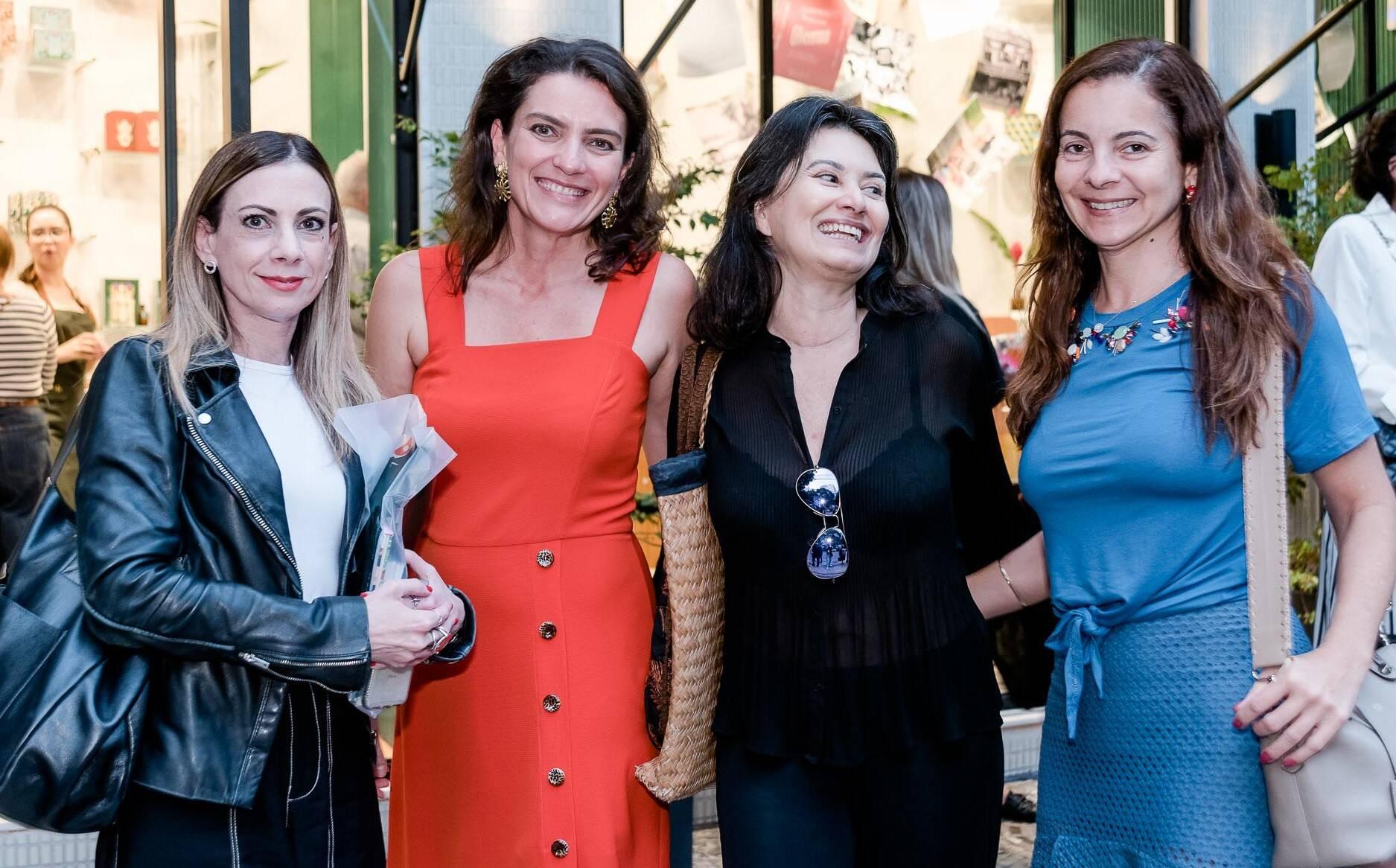 Paula Acioli, Melissa Jannuzzi, Ticiana  Azevedo e Isabela Menezes  /Foto: Renato Wrobel