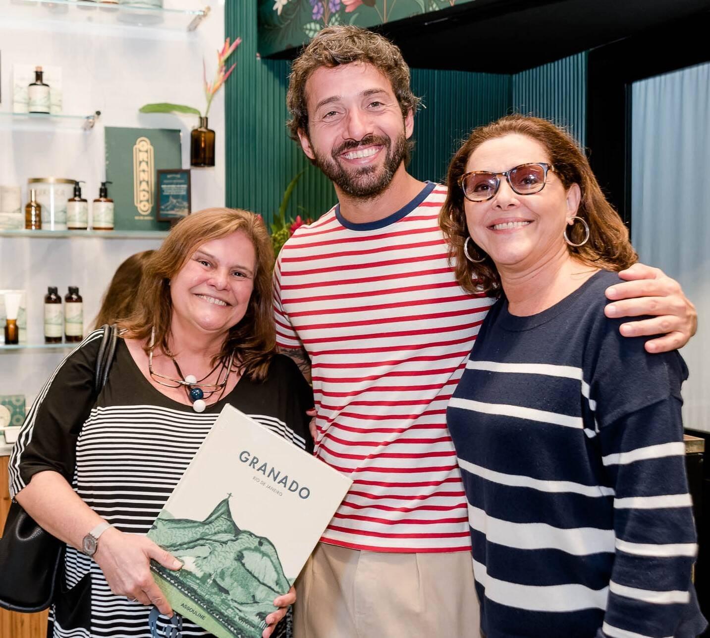 Jaqueline de Araujo, Hermés Galvão e Teresa Duarte  /Foto: Renato Wrobel
