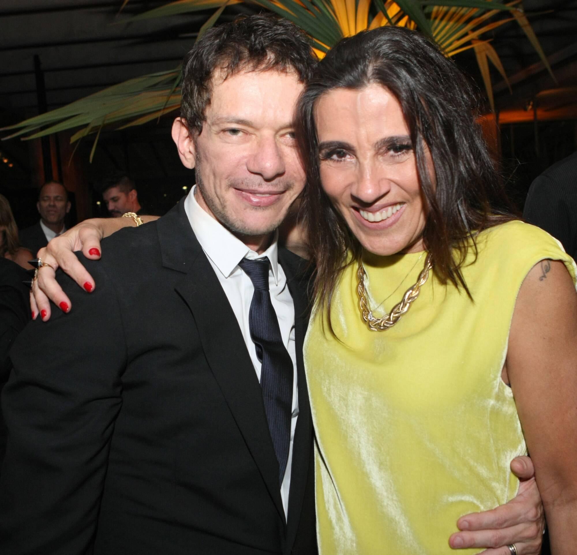 André Piva e Patricia Casé, em 2012 /Foto: Arquivo site Lu Lacerda