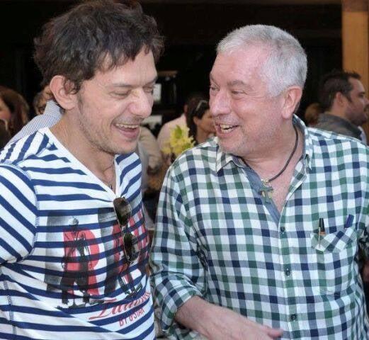 André Piva e Chicô Gouvêa, em 2011  /Foto: Arquivo site Lu Lacerda