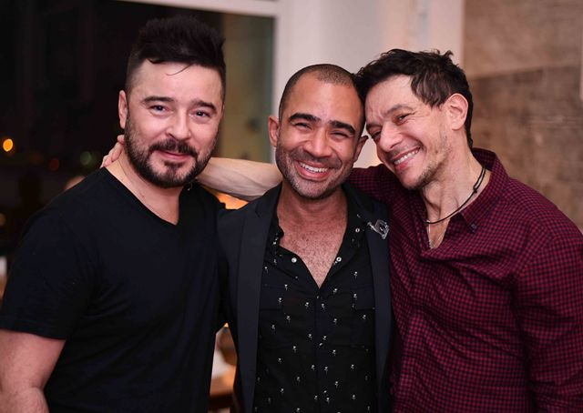Carlos Tufvesson, Vitor Brasil e André Piva, em 2017 /Foto: Arquivo site Lu Lacerda