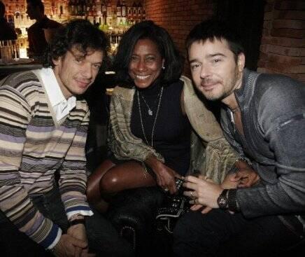 André Piva, Glória Maria e Carlos Tufvesson, em 2010  /Foto: Arquivo site Lu LacerdaSON 2010