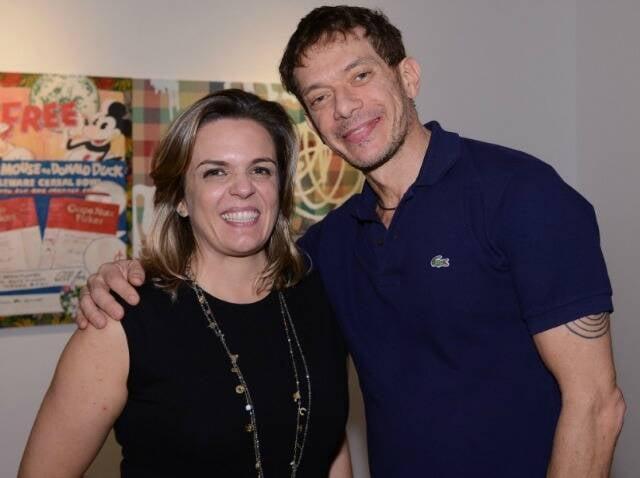 Luciana Caravello e André Piva, em  2013 /Foto: Arquivo site Lu Lacerda