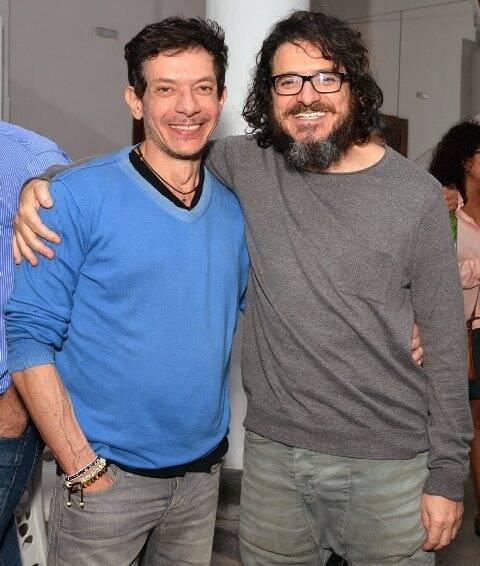 Os irmãos André e Guilherme Piva, em 2017 /Foto: Arquivo site Lu Lacerda