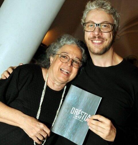 Camilla Amado e Guilherme Webber, em  2012 /Foto: Arquivo site Lu Lacerda