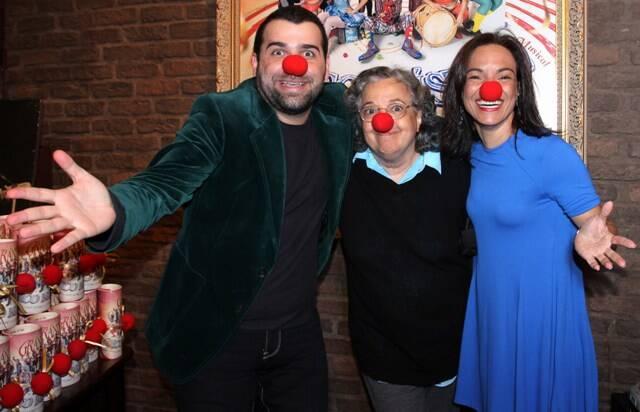 Frederico Reder, Camilla e Rafaela Amado, em 2014 /Foto: Arquivo site Lu Lacerda