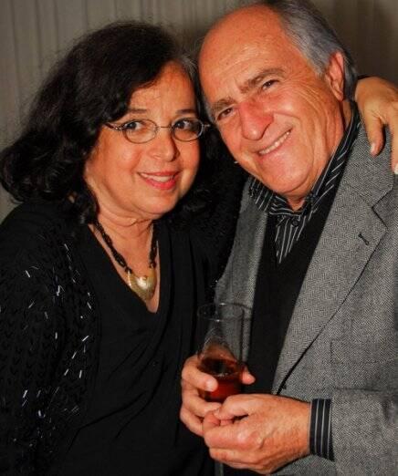 Camilla Amado e Ary Fontoura, em 2010 /Foto: Arquivo site Lu Lacerda