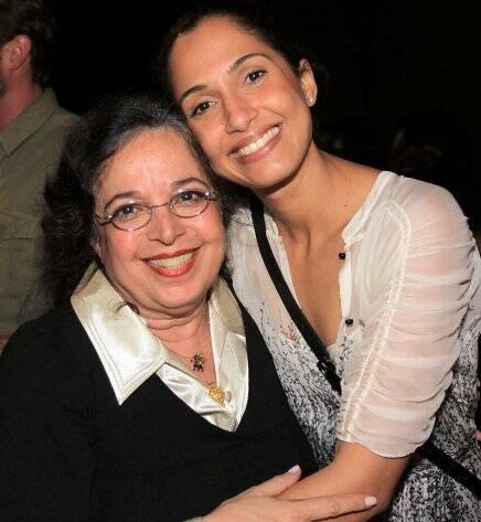 Camilla Amado e Camila Pitanga, em 2011 /Foto: Arquivo site Lu Lacerda