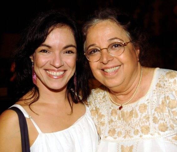 Rafaela e Camilla Amado, em 2012 /Foto: Arquivo site Lu Lacerda