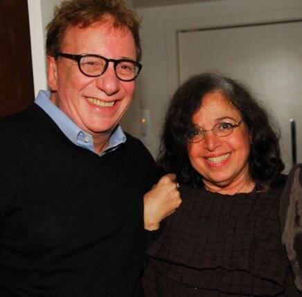 Marco Nanini e Camilla Amado, também em 2010 /Foto: Arquivo site Lu Lacerda