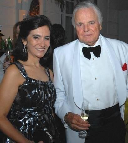 Katia Mindlin e Eudes de Orleans e Bragança, em 2010 /Foto: Arquivo site Lu Lacerda