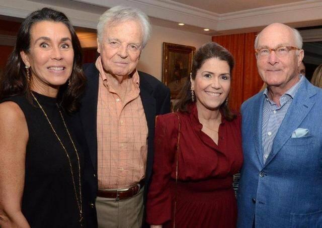 Patricia Valladão, Eudes de Orleans e Bragança, Juju Müeller e Hans Müeller, em 2015 /Foto: Arquivo site Lu Lacerda
