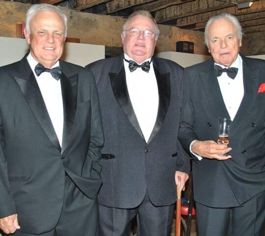 Pedro, Francisco e Eudes Orleans e Bragança, em 2014 /Foto: Arquivo site Lu Lacerda