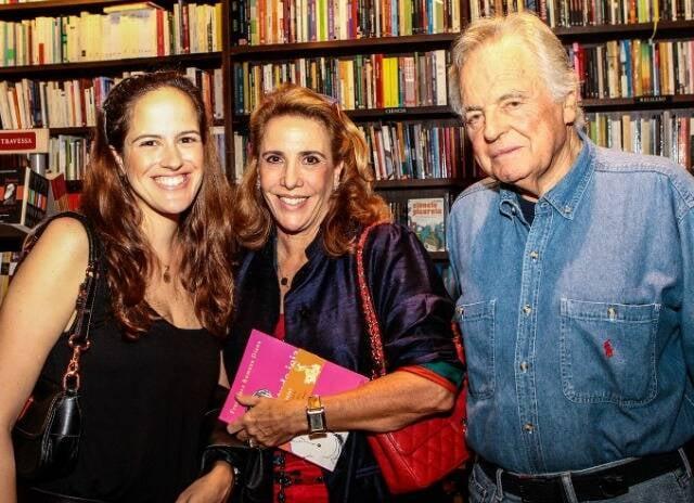 Maria Francisa, Mercedes e Eudes de Orleans e Bragança, em 2013 /Foto: Arquivo site Lu Lacerda