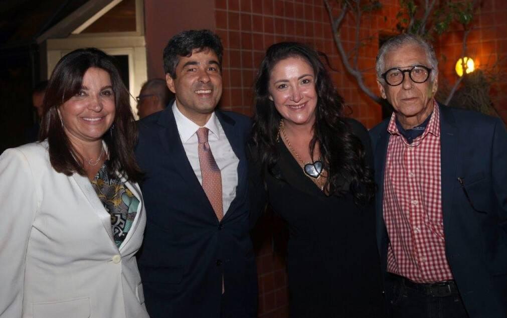 Rosara de Oliveira Maneira, José Fernando, Mariana Lisboa e Neville D'Almeira  /Foto: Felipe Valentim