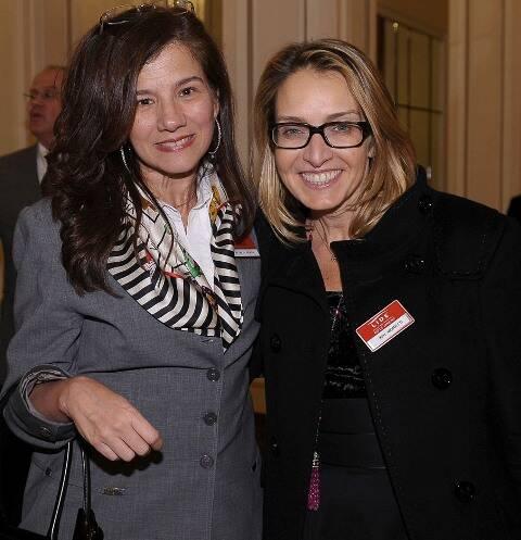 Patrícia Pardal e Kiki Moretti
