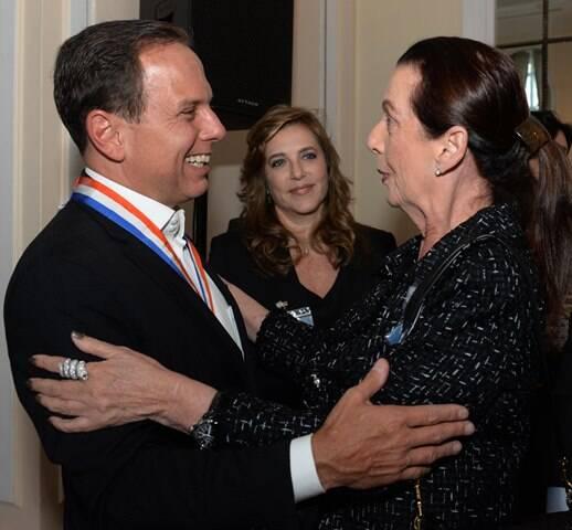 João Doria e Dulce Pugliese