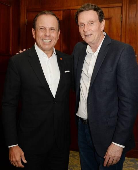João Doria e Marcelo Crivella