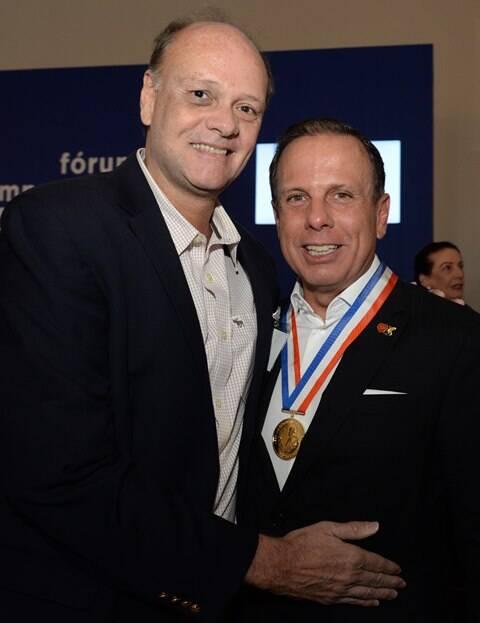 Rony Nogueira e João Doria