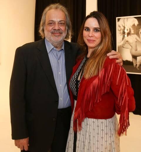 Antonio Guerreiro e Ana Stewart em 2015 /Foto: Arquivo site Lu Lacerda