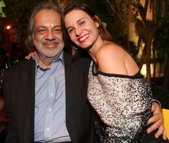 Antonio Guerreiro e Paula Burlamaqui em 2015/Foto: Arquivo site Lu Lacerda