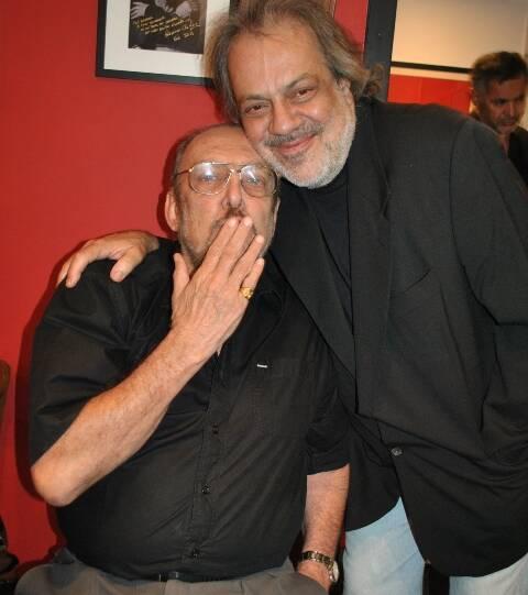 Luís Carlos Miele e Antonio Guerreiro em 2010/Foto: Arquivo site Lu Lacerda
