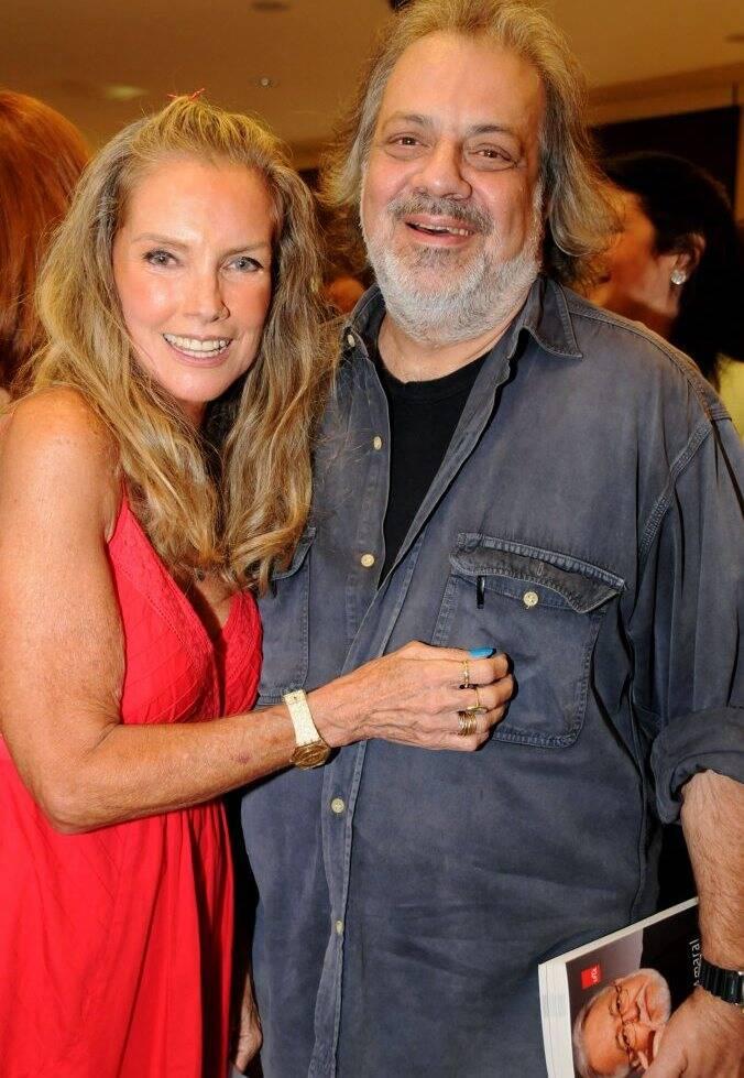 Marta Surerus e Antonio Guerreiro em 2010/Foto: Arquivo site Lu Lacerda