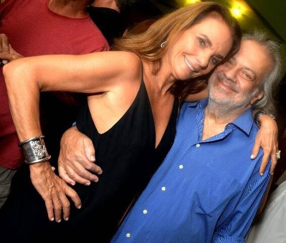 Patricia Secco e Antônio Guerreiro em 2017 /Foto: Arquivo site Lu Lacerda