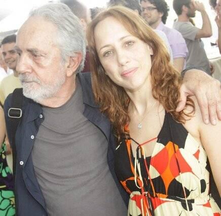 Paulo José e Ana Kutner, em 2010 /Foto: Arquivo site Lu Lacerda