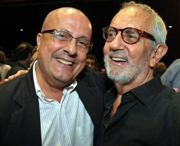 Emílio Kalil e Paulo José, em 2013  /Foto: Arquivo site Lu Lacerda